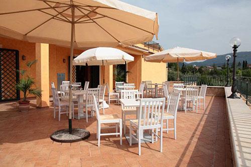 Agriturismo tra Rieti e Roma nord con terrazza panoramica