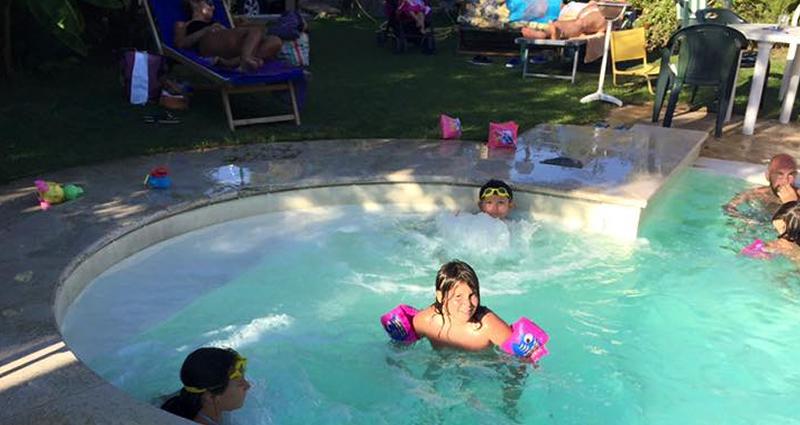 Agriturismo in sabina con piscina salata e idromassaggio - Piscina con acqua salata ...